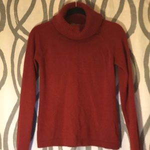 Ann Taylor Cashmere Sweater - rust (S)
